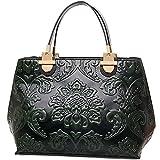 GUGGE Womens National Style Luxury Shoulder Bags Flowers Temperament Handbags