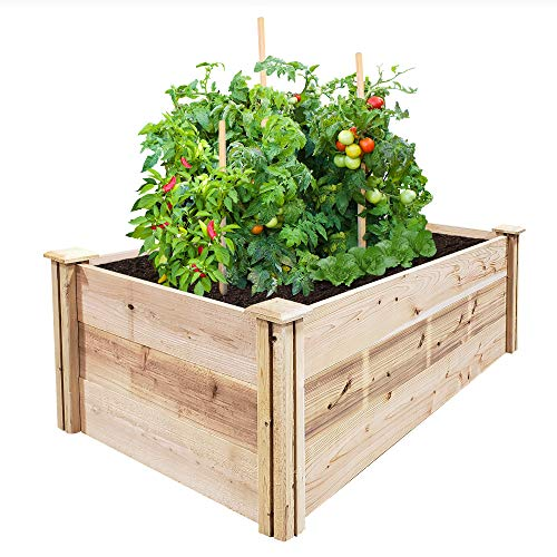 Greenes Fence Premium Cedar Raised Garden Bed