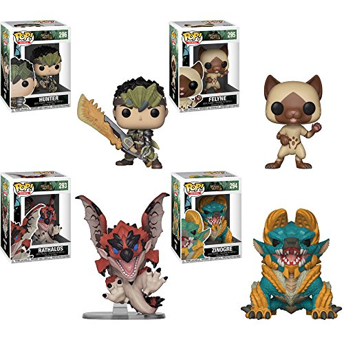 Funko Pop! Games: Monster Hunter 3.75