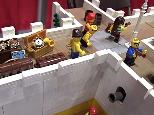 Clip: Lego Pirates Fort Mod-U-Redular
