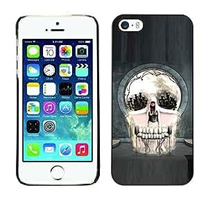 Stuss Case / Funda Carcasa protectora - Skull Abstract Goth Art - iPhone 5 / 5S