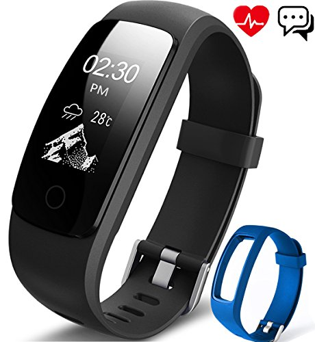 Fitness Tracker Aneken Activity Tracker with He...