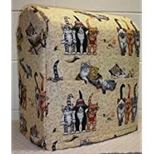 Beach Cats Sunbeam Heritage Series 4.6qt Mixmaster Cover (All Beach Cats) by Penny's Needful Things