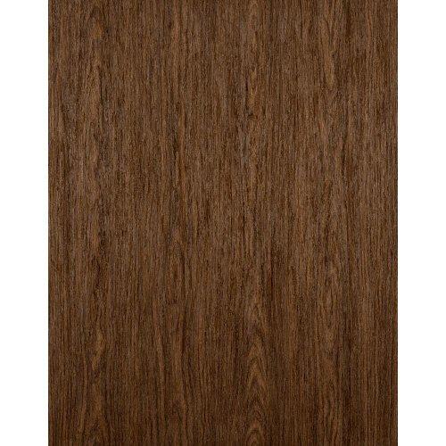 York Wallcoverings Modern Rustic Raised Wood Wallpaper 8 X 10 Memo Sample Dark Mocha Brown/Deep Tan
