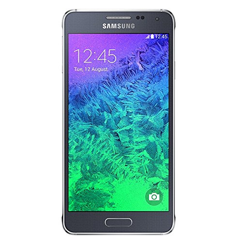 Samsung Galaxy Alpha G850a 32GB Carrier Unlocked GSM Quad-Core Smartphone w/ 12MP Camera - Charcoal Black
