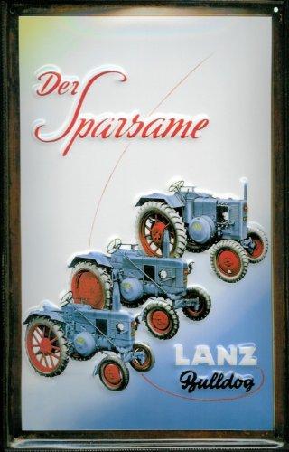 El diseño de bajo consumo Lanz Bulldog Oldtimer tractor ...
