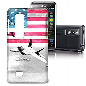 Phone Case For LG Optimus 3D P920 / Thrill 4G P925 - Air Force USA USAF Back Hardshell by lolosakes