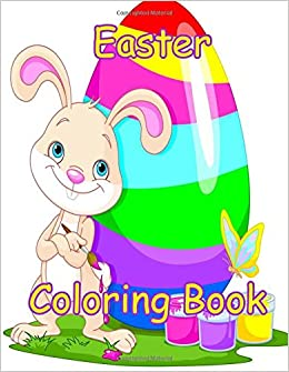 Easter Coloring Book 85 X 11 Big Drawing Activity Books Volume 3 Doodle 9781544802091 Amazon