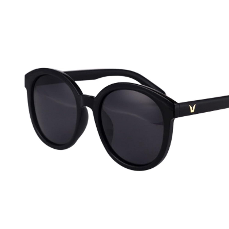 Trend ladies sunglasses/Anti-luster membrane anti-UV sunglasses/Big circular drive box splitter