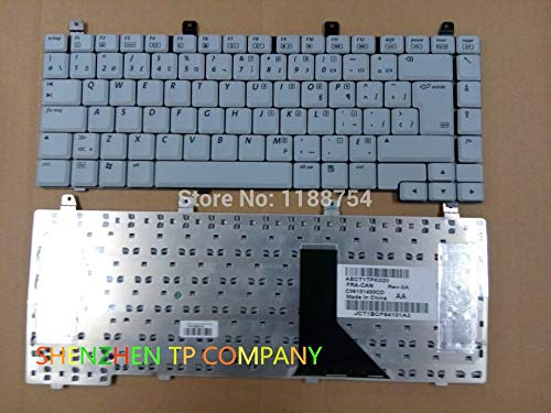 French Keyboard ForHP Compaq Presario C300 C500 V2000 M2000 R3000 R4000 V5000 French Canadian Version White