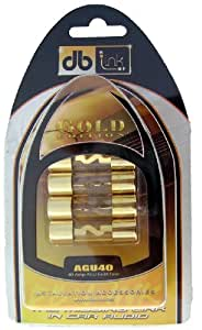 DB Link AGU40 40 Amp Gold AGU Fuses