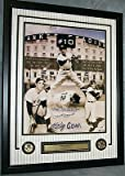 PHIL RIZZUTO Signed Limited Edition NEW YORK YANKEES Framed 16x20 Photo Auto PSA