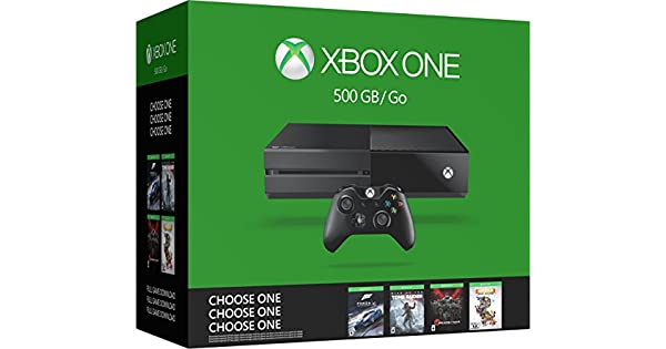 Xbox One 500Gb Console Bundle - Choose One Of Four Games: Forza 6 ...