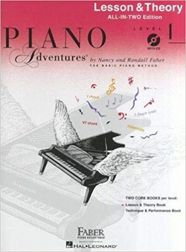 Piano Adventures: Lesson and Theory Book - Level 1 Book/CD