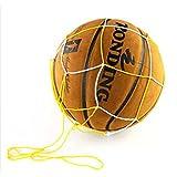 Yosoo 5Pcs Deporte útil bola malla nylon bolsa bola neta Carry Mesh para voleibol baloncesto fútbol fútbol