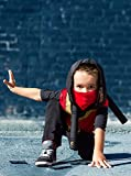 Little Adventures Ninja Force Hooded Vest Costume