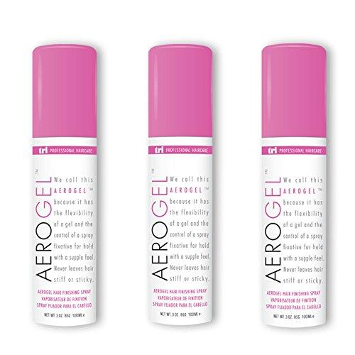 TRI Aerogel Hair Finishing Spray 3 oz. – 3 cans