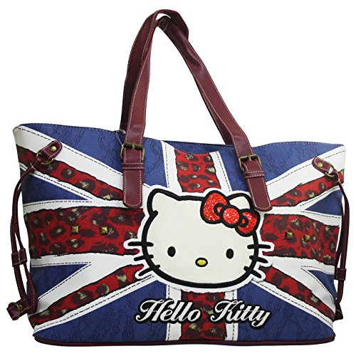 Flag A Donna Hello Spalla Da Tote Shopper Kitty England Borsa CxYEq1wH