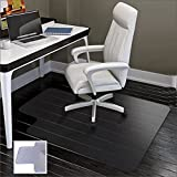 Chair Mat for Carpets | Low / Medium Pile Computer Chair Floor Protector for Office and Home | Transparent , Studded | Polypropylene Carpet Chair Mats | 36''x48''-by Alexes