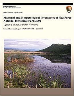 Mammal and Herpetological Inventories of Nez Perce National Historical Park 2002: Upper Columbia Basin Network: Natural Resource Report NPS/UCBN/NRR?2010/179
