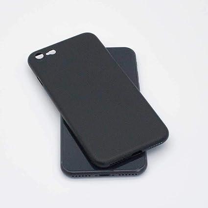 TDL Coque iPhone 8 Ultra Fine (0,35mm) légère Slim Minimaliste Design avec Protection Anti-Rayure - pour Apple iPhone 8 (Noir Mat)