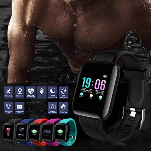 Printong Braccialetto Sportivo Intelligente Braccialetto Fitness Tracker Orologio Braccialetto Intelligente Impermeabile per cardiofrequenzimetro