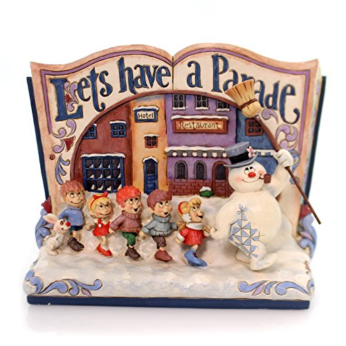 Jim Shore LET'S HAVE A PARADE Polyresin Frosty The Snowman (Polyresin Snowman)