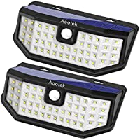 New Upgraded 48 LED Solar Lights with Wide Angle...