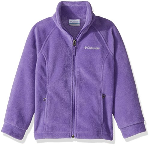 Little Girls Jacket - Columbia Little Girls' Benton Springs Fleece Jacket, Grape Gum, XX-Small