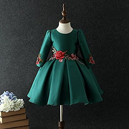 QTONGZHUANG Slim dress autumn and winter Chinese style cheongsam dress Slim dress girl winter skirt in