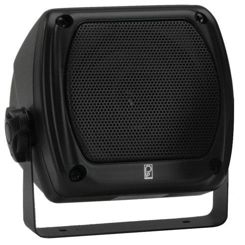 Poly-Planar MA840 Sub Compact Box Speaker 80 watt Black