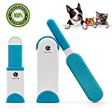 Best Lint Brushes - Pet Hair Remover with Self-Cleaning Base,Double-Sided Reusable Brush Review