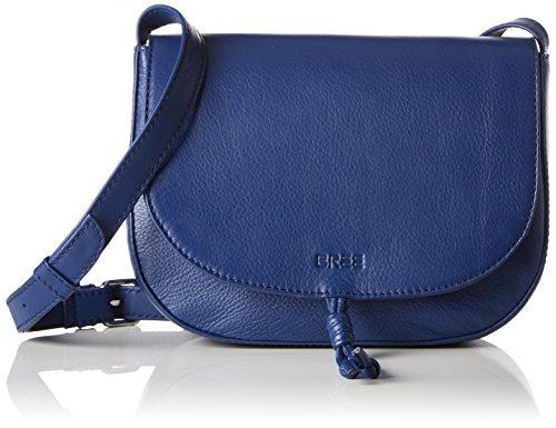 BREE Lusaka 1 Mini Bag Sac bandoulière cuir 22 cm Bleu (Blue)