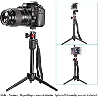 Neewer 14 inches/36 centimeters Mini Travel Tabletop Camera Tripod with 360 Degree Ball Head for iPhone,Samsung,Huawei Smartphone,Gopro,DSLR Camera,Load up to 6 pounds/2.7 Kilograms