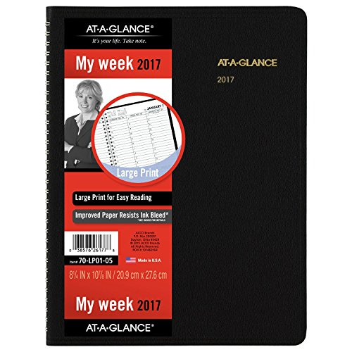 GLANCE Weekly Appointment Planner 70 LP01 05