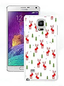 Personalized Design Santa Claus White Samsung Galaxy Note 4 Case 7