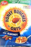Post Honey Bunches of Oats, Crispy with Almonds 48 Ounce