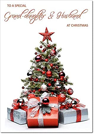 Granddaughter husband christmas card parcels and christmas tree granddaughter husband christmas card parcels and christmas tree medium size m4hsunfo