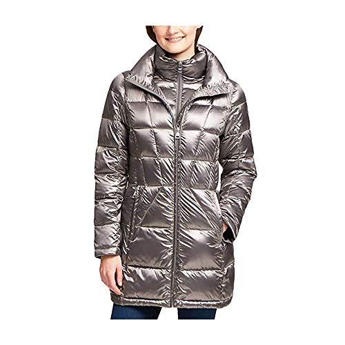 Andrew Marc Ladies' Packable Down Jacket (L, Shine Granite) (Lady Down Jacket)