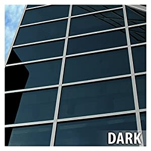 BDF EXNA20 EXTERIOR Window Film Privacy and Sun Control Natural 20, Dark - 36in X 24ft