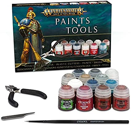 Games Workshop Warhammer Age of Sigmar: Citadel Essentials 16pieza ...