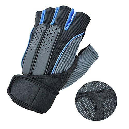 Weight Lifting Gloves Gym Gloves with 12