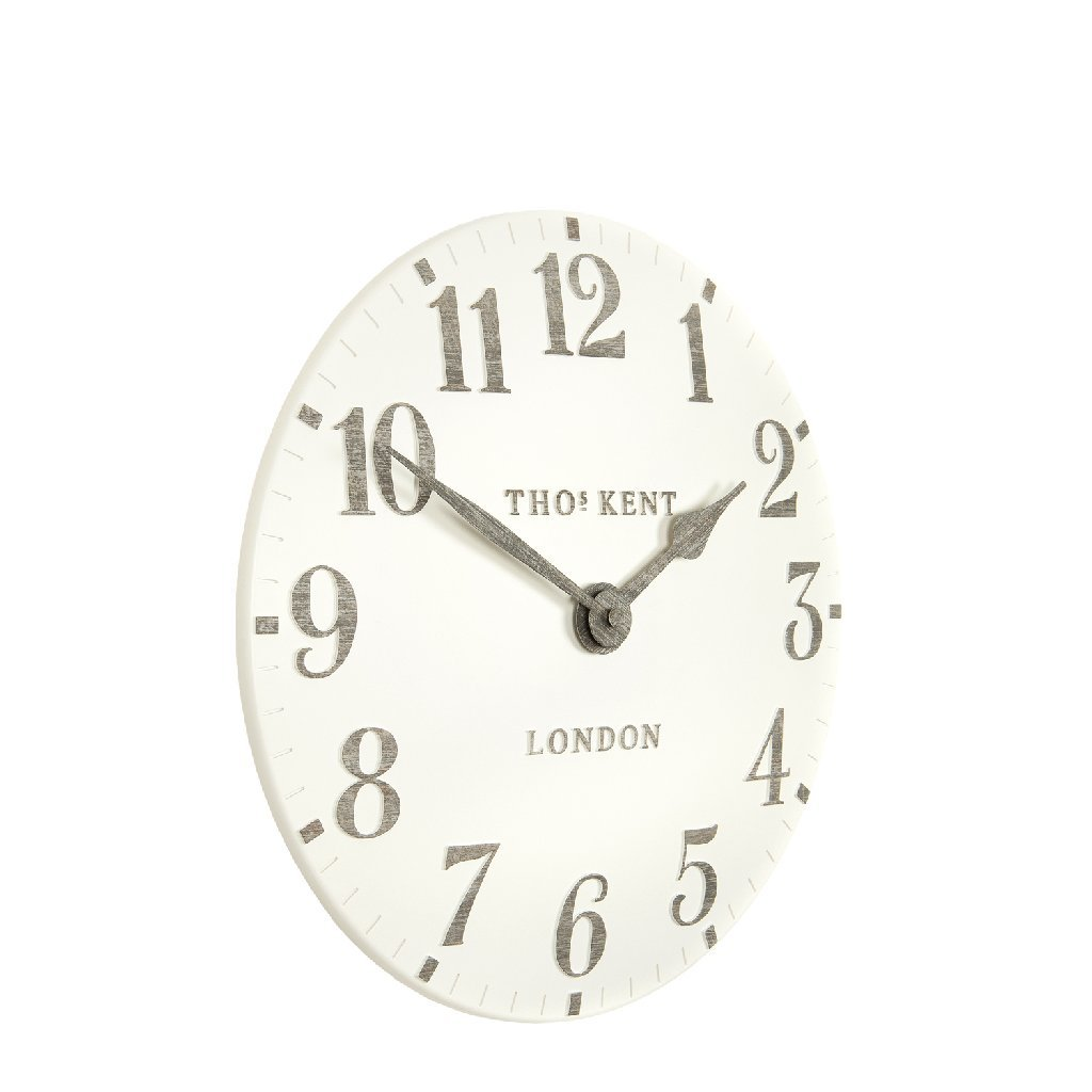 Thomas Kent Clocks Arabic 12 Wall Clock Limestone Thomas Kent