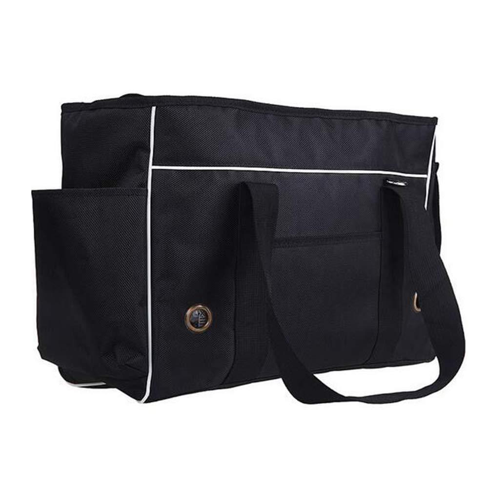 DYYTR Pet Borsa a Tracolla, Pieghevole Portatile Cat Cat Cat Dog Carrier Traspirante Mesh Cane Zaino Outdoor Travel Bag Trasporto Bag,S 1022fb