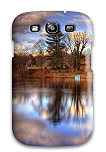 Anti-scratch And Shatterproof Reflection Phone Case For Galaxy S3/ High Quality Tpu Case