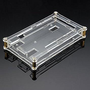 ILS - Cubierta de acrílico Transparente Caja para Arduino MEGA2560 R3 Módulo Caso: Amazon.es: Electrónica