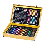 LLZJ Art Drawing Sets Children 158 Pcs School Coloured Design Professional Supplies Stationery Creative Student Kids Brush Gifts Pencils Painting Pen Watercolor Kits
