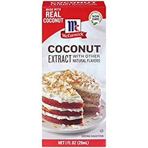 McCormick Coconut Extract With Other Natural Flavors, 1 fl oz