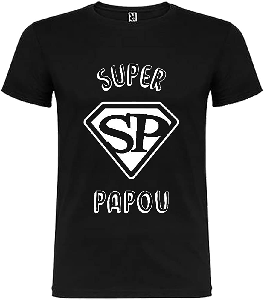 Noir Tip Top Tshirt T-Shirt Homme Super Papou
