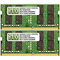 16GB (2 X 8GB) DDR4-2400MHz PC4-19200 SODIMM for Apple iMac 27 2017 Intel Core i5 Quad-Core 3.8GHz MNED2LL/A (iMac 2718,3 Retina 5K Display)
